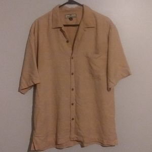 Tommy Bahama 💯%silk button down shirt